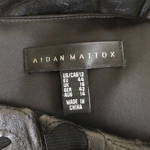Aidan Mattox Dresses - Aidan Mattox black cocktail dress